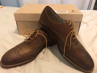Used ORIGINAL LEATHER J SHOES / UK8 EUR42 US9 in Dubai, UAE