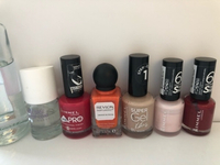 Used 6 nail polishes with remover  in Dubai, UAE