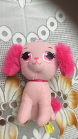 Used Pink dog plush,suitable for kids above 3 in Dubai, UAE