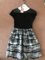 Used FG4 dress black and white size S-M in Dubai, UAE