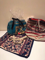 Used Bundle of prayer carpet+bags+perfume oil in Dubai, UAE