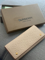Used Original Burberry long wallet  in Dubai, UAE