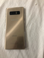 Used Samsung Galaxy note 8 64 Gb dot gold in Dubai, UAE