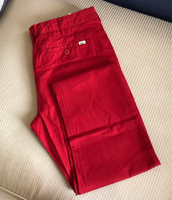 Authentic Red Lacoste Slim Fit/36