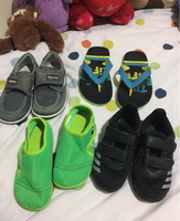 Used Kids branded shoes fit 2-3 year old in Dubai, UAE