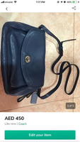 Used Coach cross body bag  in Dubai, UAE