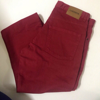 Used Red Lacoste pants 👖 w33/L34 in Dubai, UAE