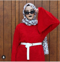 Used Bell sleeve red top (size M) in Dubai, UAE