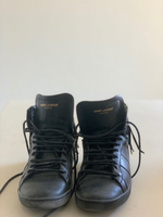 Used Saint Laurent Leather High-tops  in Dubai, UAE