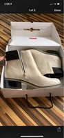 Used Aldo off-white boots in Dubai, UAE