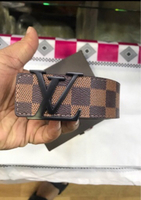Lv belt for men