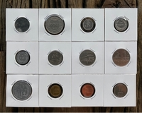 Used Romania - 12 old coins in Dubai, UAE