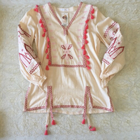 Used embroidered balloon sleeve top in Dubai, UAE