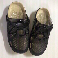 Used Black slippers size 42 in Dubai, UAE
