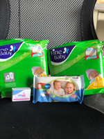 Used Finebaby diapers,sebamed baby bar& wipes in Dubai, UAE