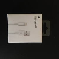 Used Lightning USB cable for Iphone 6/7/8 1M  in Dubai, UAE