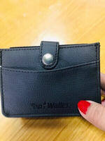 Used Credit card / ID wallet black unisex❤️ in Dubai, UAE