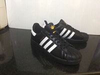 Used Adidas superstar shoes, size 42, new  in Dubai, UAE