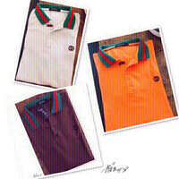 Used Gucci Inspired Polo Shirt -Large💙 in Dubai, UAE
