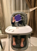 Used Evenflo luxury high chair in Dubai, UAE