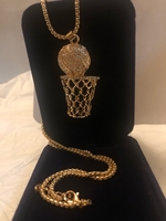 Used Cool Hip Hop Style basketball necklace in Dubai, UAE