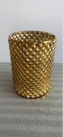 Used Golden Flower Vase in Dubai, UAE