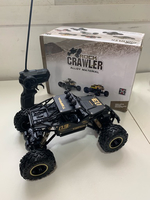 Used Black RC remote control car (new) in Dubai, UAE