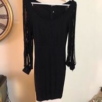 Black evening dress  size Medium