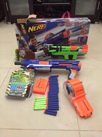 Used 2 Nerf gun with 50 bullets in Dubai, UAE