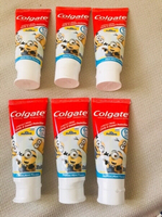 Used Colgate Minion Kids Toothpaste pack of 6 in Dubai, UAE