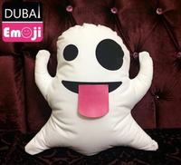 Used Emoji Pillow Case cover Ghost Face gift  in Dubai, UAE