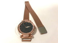 NEW Womens Ultra Thin Quartz Watch Brown