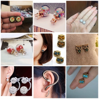 Used New 9 earrings combo  in Dubai, UAE