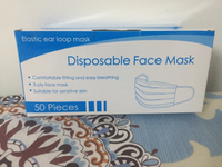 Used Face mask 50 pcs only 30 dhs in Dubai, UAE