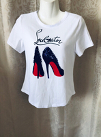 White FASHION T-SHIRT UK 8