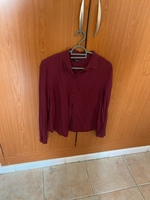 Used Reserved, maroon shirt  in Dubai, UAE