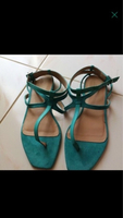 Used Zara sandals euro 38.5/39 in Dubai, UAE
