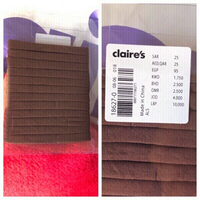 Used New hair band from Claire's with pack🤎 in Dubai, UAE