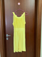 Used Calvin klein buttercup lace dress in Dubai, UAE