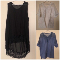 Used Bundle Offer💥2xBlouses + Nightgown 5XL in Dubai, UAE