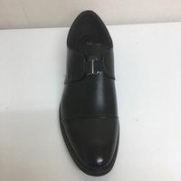 Office mens black shoe without lace