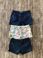 Used Shorts 3 pieces for a girl size 10-12 yo in Dubai, UAE