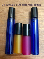 Used Essential Oil Glass Rollers - 5ml / 10ml in Dubai, UAE