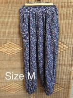 Used Blue baggy comfy trousers size medium in Dubai, UAE
