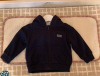 Used Hugo Boss logo hooded sweater  in Dubai, UAE