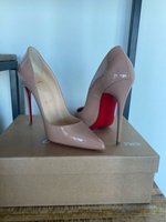 Used NEW Christian Louboutin So Kate,120 Nude in Dubai, UAE