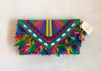 Colorful Beaded Funky Clutch