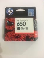 "Used Hp 650 ink cartridge (black) ""open box"" in Dubai, UAE"