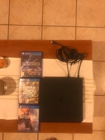 Used PS4 slim 1TB only used 4 months 3 games  in Dubai, UAE