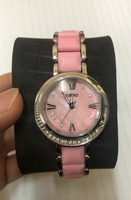 Used kimio women wristwatch pink in Dubai, UAE